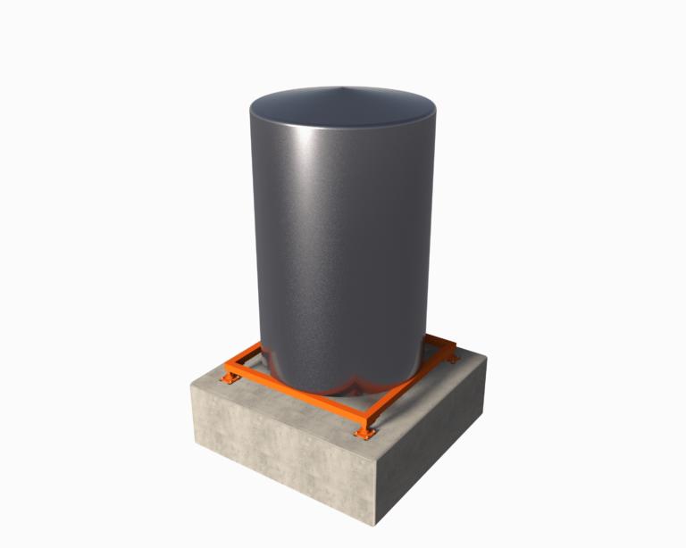 Весы для вертикально-ориентированного бункера